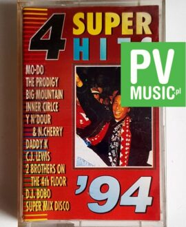 SUPER HITS '94 THE PRODIGY, MO-DO, INNER CIRCLE..audio cassette