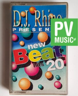 D.J. RHINO NEW BEAT HITS ANGELINA, KARINA, N.D.A. audio cassette