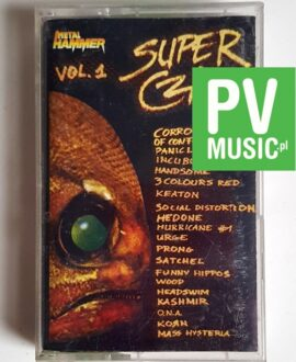 SUPER CZAD vol.1 audio cassette