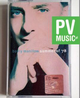 BARRY MANILOW SUMMER OF '78 audio cassette