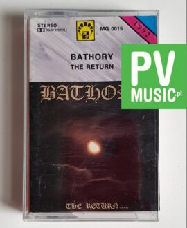 BATHORY THE RETURN audio cassette