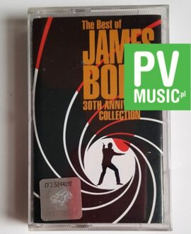 JAMES BOND COLLECTION THE BEST OF audio cassette