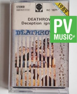 DEATHROW DECEPTION IGNORED audio cassette