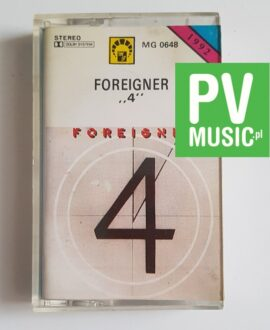 "FOREIGNER ""4"" audio cassette"