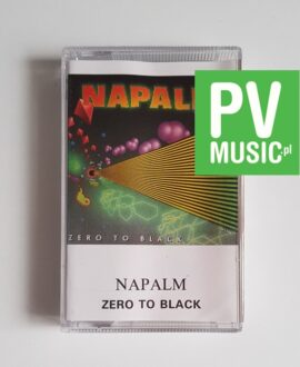 NAPALM ZERO TO BLACK audio cassette