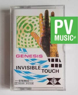 GENESIS INVISIBLE TOUCH audio cassette