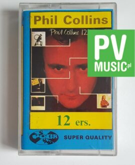PHIL COLLINS 12 ers. audio cassette