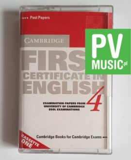 CAMBRIDGE FIRST CERTIFICATE IN ENGLISH audio cassette