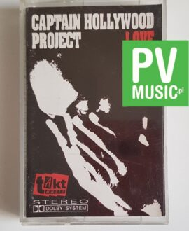 CAPTAIN HOLLYWOOD PROJECT LOVE IS NOT SEX audio cassette