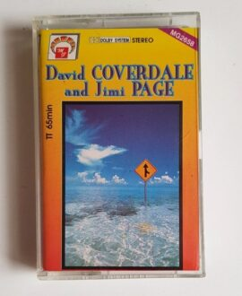 DAVID COVERDALE AND JIMI PAGE audio cassette