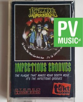 INFECTIOUS GROOVES THE PLAGUE THAT MAKES..audio cassette
