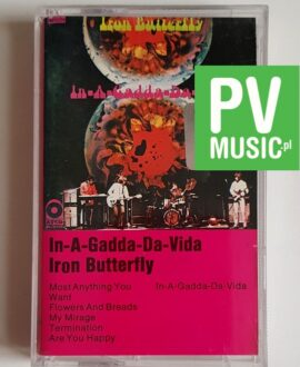 IRON BUTTERFLY IN-A-GADDA-DA-VIDA audio cassette