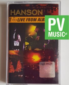 HANSON LIVE FROM ALBERTANE audio cassette