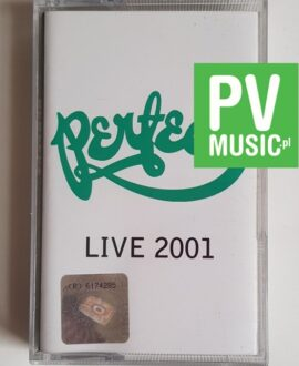 PERFECT LIVE 2001 audio cassette