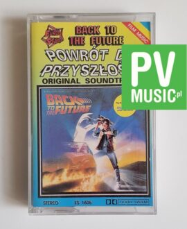 BACK TO THE FUTURE SOUNDTRACK audio cassette