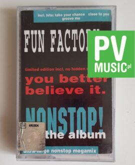 FUN FACTORY NON STOP! THE ALBUM audio cassette