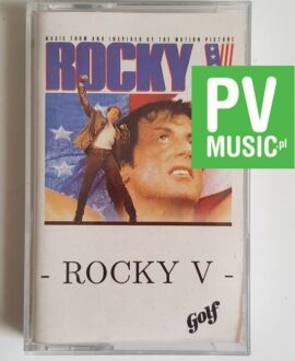 ROCKY V SOUNDTRACK audio cassette