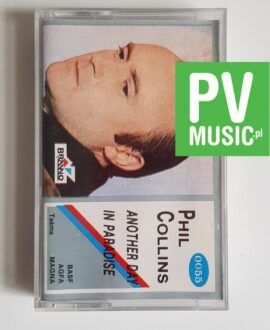 PHIL COLLINS ANOTHER DAY IN PARADISE audio cassete