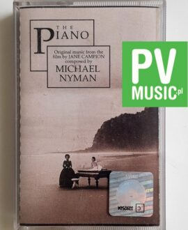 THE PIANO FORTEPIAN MICHAEL NYMAN, SOUNDTRACK audio cassette