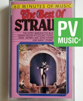 STRAUSS THE BEST OF audio cassette