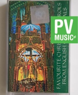 FAVOURITE CAROLS ENGLISH CATHEDRALS audio cassette