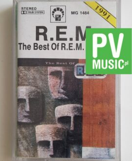 R.E.M. THE BEST OF R.E.M. audio cassette