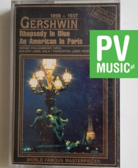 GERSHWIN RHAPSODY IN BLUE audio cassette