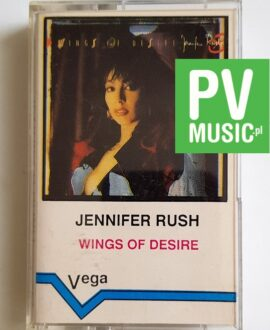 JENNIFER RUSH WINGS OF DESIRE audio cassette