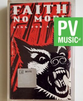 FAITH NO MORE KING FOR A DAY audio cassette