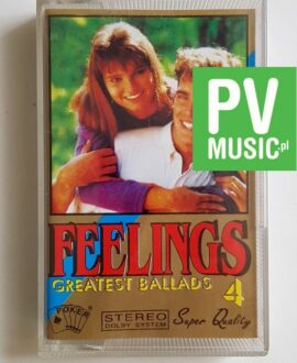 FEELINGS 4 BALLADS BOY GEORGE, SLADE..audio cassette