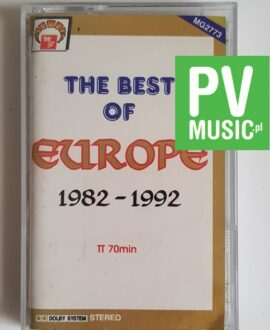 EUROPE THE BEST OF 1982-1992 audio cassette