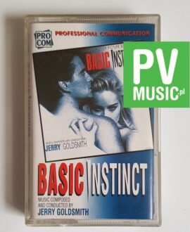 BASIC INSTINCT SOUNDTRACK audio cassette