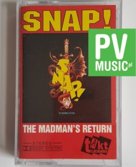 SNAP THE MADMAN'S RETURN audio cassette