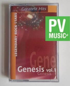 GENESIS vol.1 GREATEST HITS audio cassette