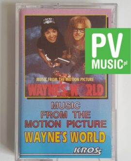 WAYNE'S WORLD SOUNDTRACK audio cassette