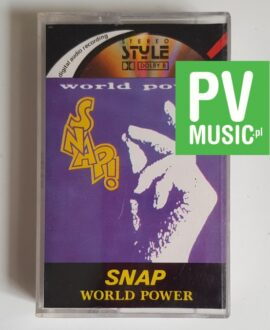 SNAP WORLD POWER audio cassette