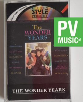 THE WONDER YEARS SOUNDTRACK audio cassette