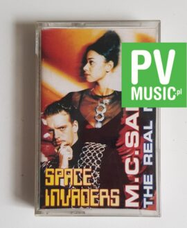 M.C. SAR & THE REAL McCOY SPACE INVADERS audio cassette