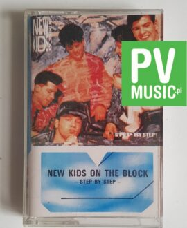 NEW KIDS ON THE BLOCK STEP BY STEP audio cassette