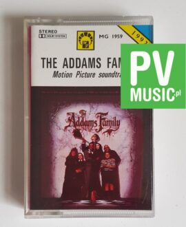 THE ADDAMS FAMILY SOUNDTRACK audio cassette