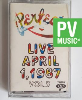 PERFECT LIVE APRIL 1987 vol.3 audio cassette