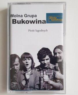 WOLNA GRUPA BUKOWINA PIEŚŃ ŁAGODNYCH audio cassette