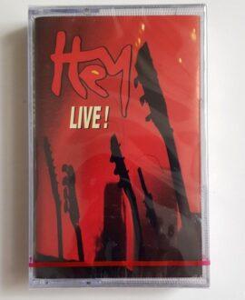 HEY LIVE audio cassette