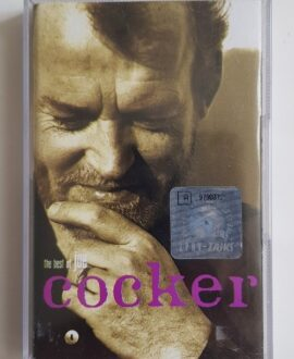 JOE COCKER THE BEST OF audio cassette