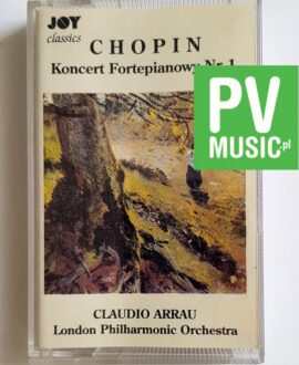 CHOPIN CLAUDIO ARRAU audio cassette