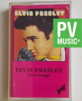 ELVIS PRESLEY LOVE SONGS audio cassette