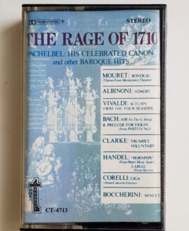 THE RAGE OF 1710 VIVALDI, BACH..audio cassette
