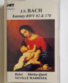 J.S.BACH KANTATY BWV 82 & 170