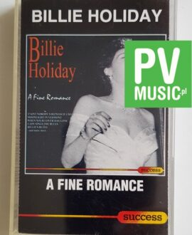 BILLIE HOLIDAY A FINE ROMANCE audio cassette