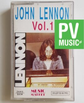 JOHN LENNON VOL.1 audio cassette
